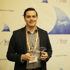Pablo Rivero, Director, Awareness and Engagement, American Express wins a Killer Content Award for Research-Based Content.