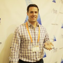Andy Mackensen, Co-Founder & CMO, SnackNation brings home a Finny for Buyer-Focused Content.