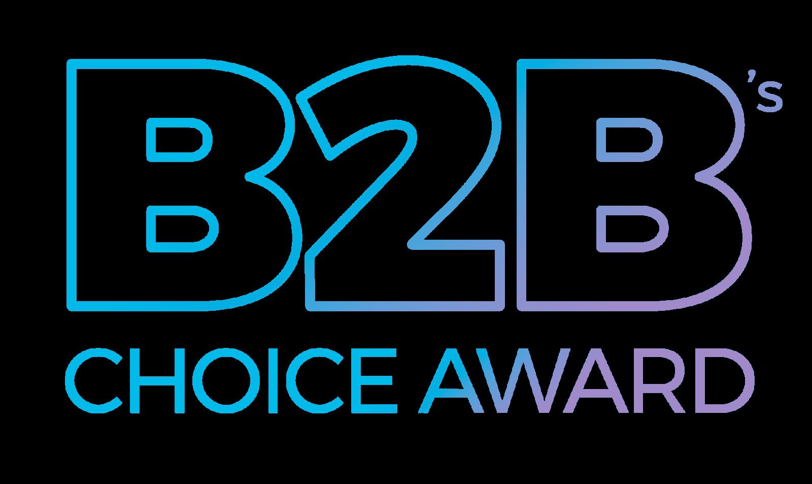 B2B's Choice Award