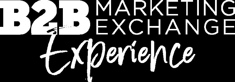 B2B Marketing Exchange Digital Experience