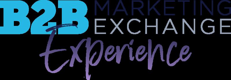B2B Marketing Exchange Experience