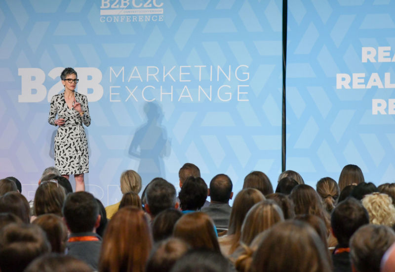"Tamsen Webster inspired a room of marketers  to build messages people say ""YES!"" to."