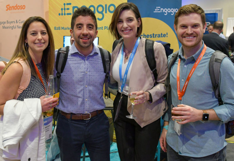 The Marketplace was the ideal place for attendees to mingle with their peers.
