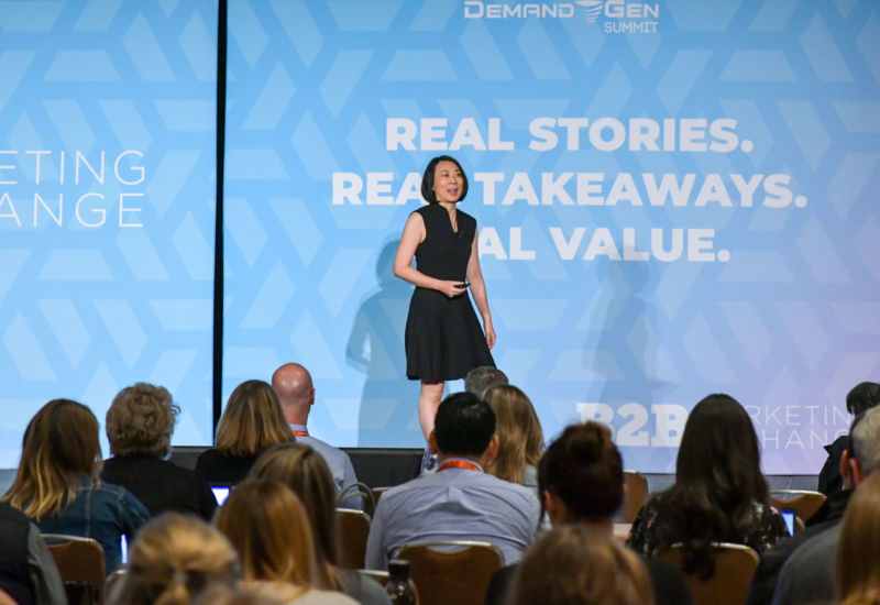 #B2BMX fan favorite Pam Didner wowed the crowd by cracking some AI myths.