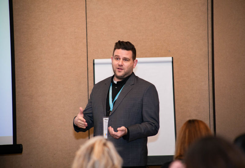 Justin Keller of Terminus talked about the total marketing impact of employee email.