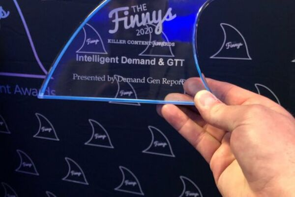 Intelligent Demand is taking home this shiny Finny for their Agency Partnership.