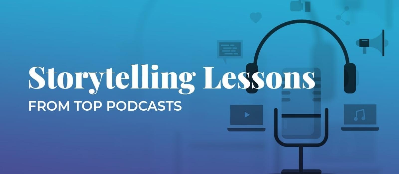 Podcasts storytelling